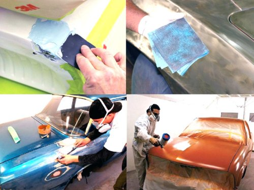Простые способы, как подготовить авто к покраске.